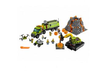 LEGO City 60124 Volkan Keşif Üssü