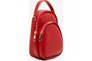 Koton Kadın Deri Görünümlü El Çantası - Kırmızı