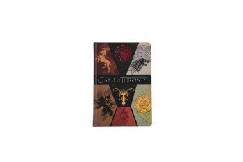 Game Of Thrones A5Sert KapaklıLastikli120 y. Defter