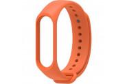 Happyshop Xiaomi Mi Band 2 İçin Renkli Silikon Kayış - Turuncu