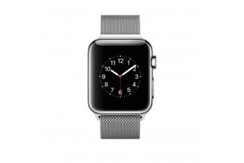 Apple Watch 42mm Paslanmaz Çelik Kasa ve Milano Loop