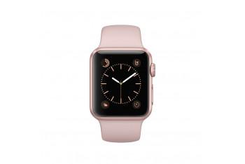 Apple Watch s1 38mm Roze Altın Rengi Alüminyum Kasa ve Kum Pembesi spor Kordon