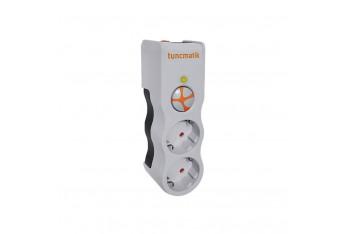 Tunçmatik Powersurge 2'li surge Protection Plug 525 Joule - Beyaz