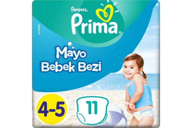 Prima Mayo Bebek Bezi 4 Beden 11 Adet Maxi Tekli Paket