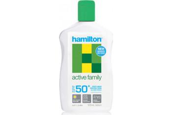 Hamilton Active Family Losyon Spf50 125 ml