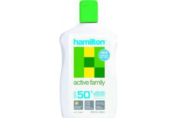 Hamilton Sun Active Family Lotion Spf50 250 ml