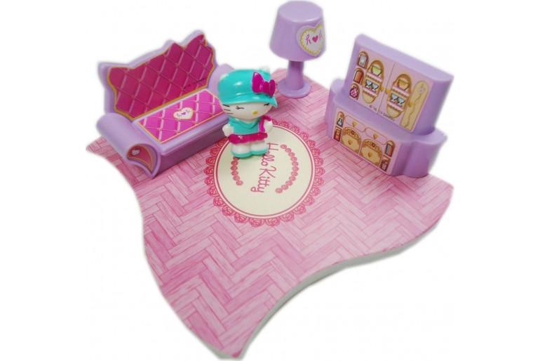 Hello Kitty Evim Güzel Evim Oturma Odası