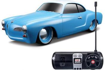 Maisto 1966 Volkswagen Karmann Ghiau 124 Mavi