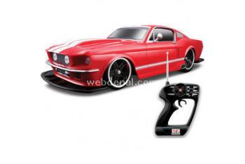 Maisto 1967 Ford Mustang 110 Kırmızı