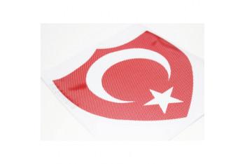 ModaCar Noktalı Türk Bayrağı Yapıştıma 29 cm 105084