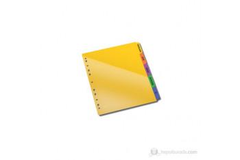 Serve Etiket Eklenebilen Çift Cepli Pp AyraçHem Ayraç Hem İki Cepli Dosya Sv-6105