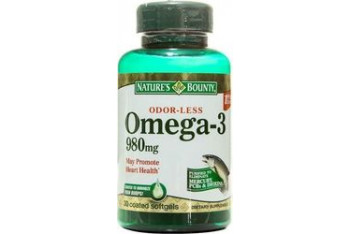 Natures Bounty Omega-3 980mg 30 Softjel