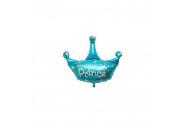 Folyo Balon Prens Taçlı Mavi 18Inc 40Cm 1 Adet