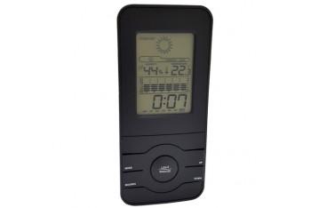 Siyah Saatli İç Mekan Termometre ve Nem Ölçer thr113
