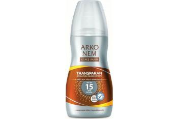 Arko Transparan Koruyucu Güneş Sprey Spf15 150 ml
