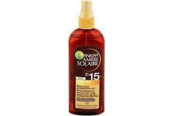 Garnier Ambre Solaire Bronzing Oil Spray Spf15 150 ml