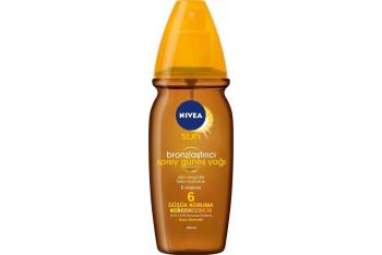 Nivea Güneş Yağı Spray Spf6 150 ml