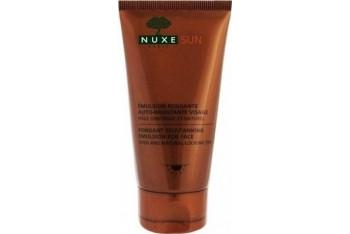 Nuxe Sun Emulsion Fondante Auto-Bronzante Visage 50 ml