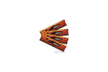 G.skill 32 GB 4x8 GB Ares Orange Low Profile DDR3 1600MHz CL10 Dual Kit
