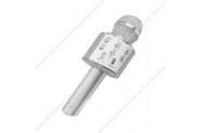 Wster Ws-858 Gümüş Bluetooth Karaoke Mikrofon