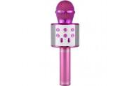 Wster Ws-858 Pink Bluetooth Karaoke Mikrofon
