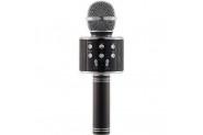 Wster Ws-858 Siyah Bluetooth Karaoke Mikrofon