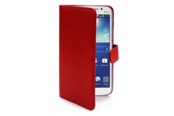 Microsonic Cüzdanlı Deri Kılıf - Samsung Galaxy Grand 2 Kırmızı - CS150-WLT-GLX-Grand2-KRZ
