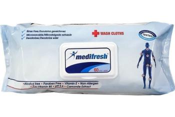 Medifresh Vücut Temizleme Mendili 60 Adet