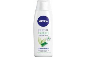 Nivea Pure Natural Temizleme Sütü 200 ml