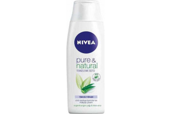 Nivea Visage Pure Natural Temizleme Sütü 200 ml