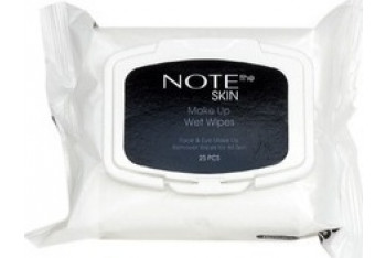 Note The Skin Make Up Wet Wipes 25 Adet