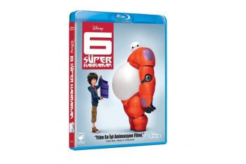 Big Hero 6 6 Süper Kahraman Bd