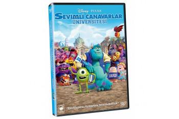 Monsters University Sevimli Canavarlar Üniverstesi DVD