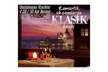 Romantik Akşamlarda Klasik Keyfi 4CD Box Set