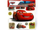 Euro Flora Disney Cars 3D Stıcker 10'lu Set (Kabarık)