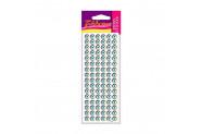 Nazar Boncuk-1 Epoxy Sticker 9 Mm, 94 Adet 6,5X17 Cm