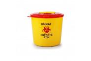 Ceyhanlar Tıbbi Atık Çöp Kovası 5 lt