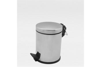 Çöp Kovası Pedallı Paslanmaz 3 Lt