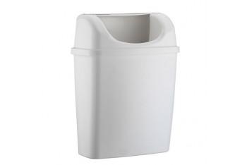 Rulopak Duvara Monte Plastik Çöp Kovası Beyaz