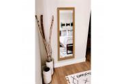 Hüma's Dekoratif Retro Boy Aynası Teak - 110 x 48 cm