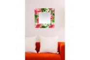 Tablo Center Dekoratif 50 cm x 50 cm Kanvas Tablo Ayna
