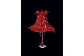 FIRSAT ÜRÜNÜ3560-1MRED Kırmızı Abajur