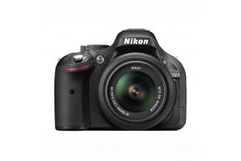 Nikon D5200 18-55mm VR II 55-200 VR II Kit 24 MP Dijital sLR Fotoğraf Makinesi