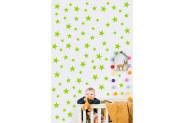 Casa Visare 100 Adet Yeşil Yıldız Sticker