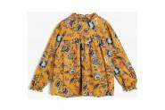 Koton Kız Çocuk Desenli Elbise - 6 - 7 Yaş - Sarı