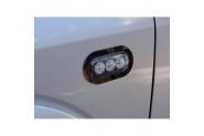 Volkswagen Amarok Sinyal Çerçeve 2 Prç Paslanmaz Çelik 2010-2016