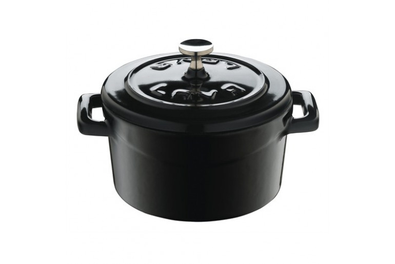 Lava Mini Tencere - Çap (Ø)10 Cm - Siyah