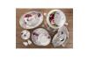 Schafer 87 Blume Collection Fine Bone Yemek Takımı-16002