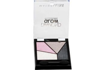 Maybelline Diamond Glow Quad 04 Grey Pink Drama
