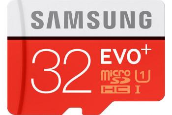 Samsung Evo Plus microSDHC 32GB Class 10 UHS-1